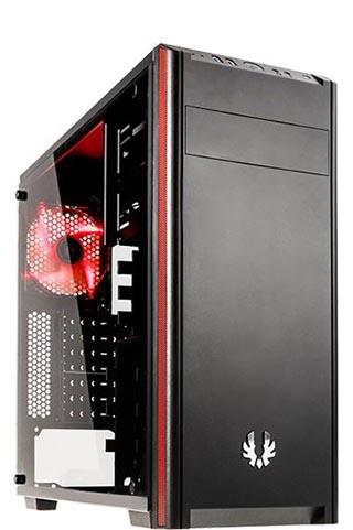 BitFenix Nova TG schwarz, Glasfenster