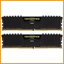 Corsair Vengeance LPX schwarz DIMM Kit 16GB, DDR4