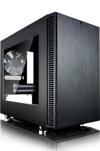 Fractal Design Define Nano S, Acrylfenster, schallgedämmt