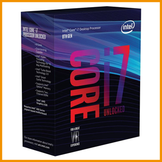 Intel Core i7-8700K, 6x 3.70GHz,